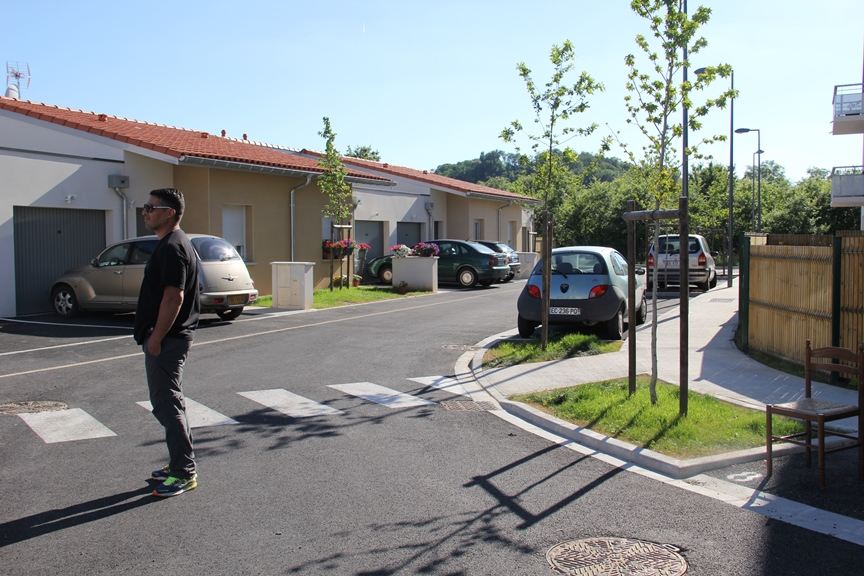 Inauguration Colomiers Habitat maisons