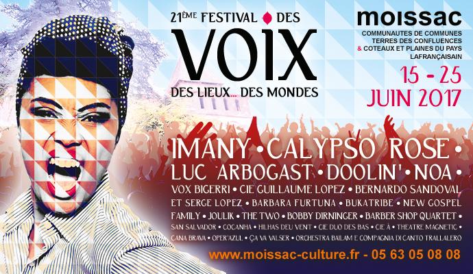 Festival des voix 2017
