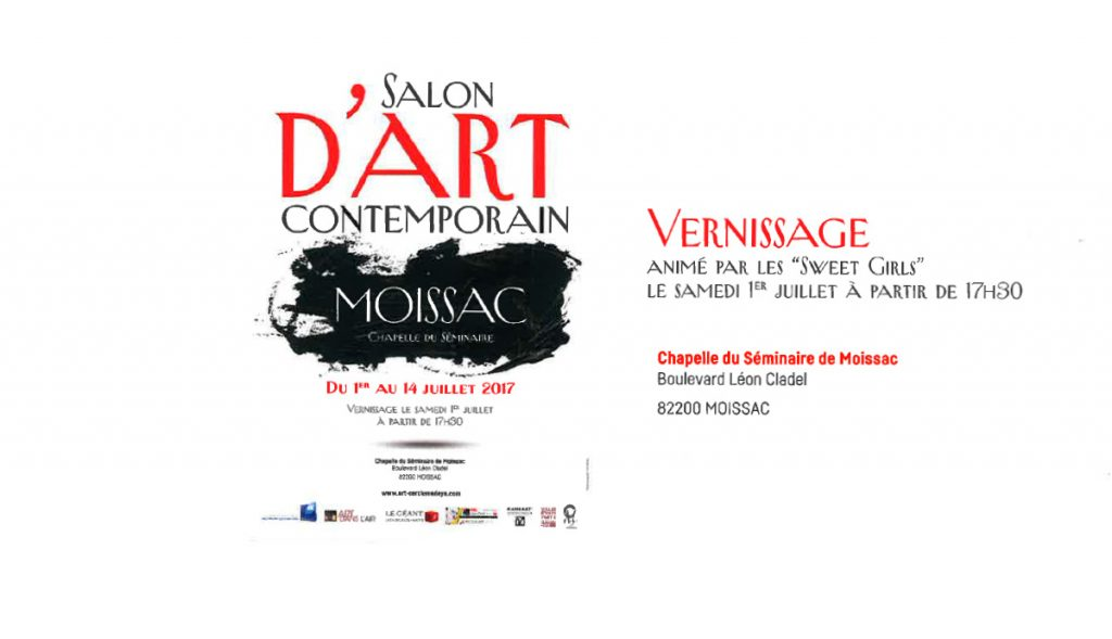 Salon d 39 art contemporain ville de moissac - Salon art contemporain ...