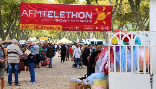 00. Vide grenier Téléthon 2017