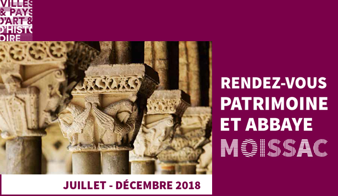 Bandeau RDV Patrimoine Abbaye Juillet Dec 2018