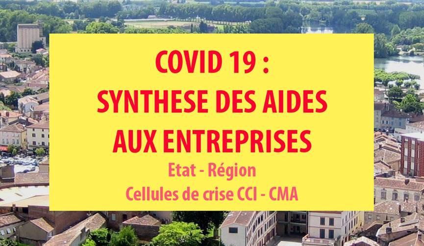 Covid 19 Aides Entrepreneurs